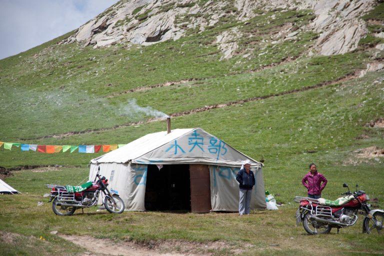 viaje china Dachaidan Lago Qinghai campamento