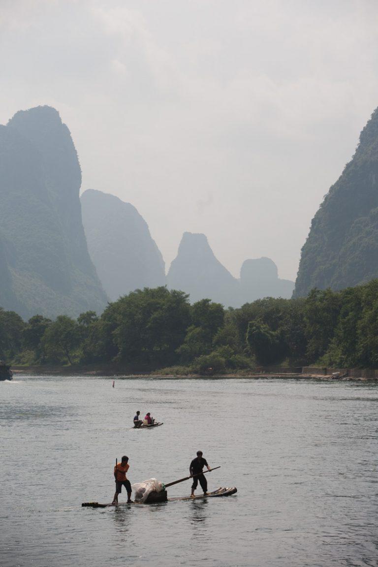 viaje china guilin paisaje