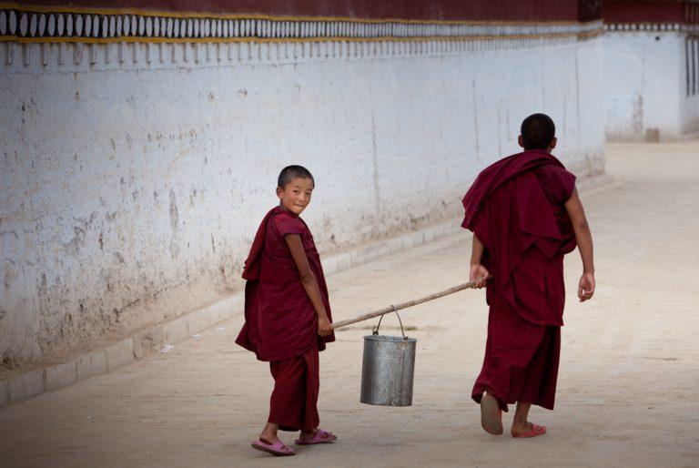 viaje china kanbula budistas