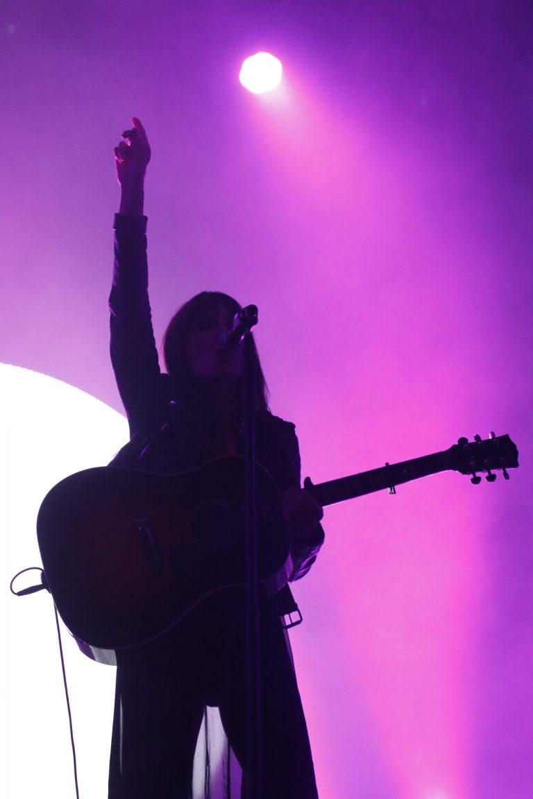 Aste Nagusia concierto, guitarra