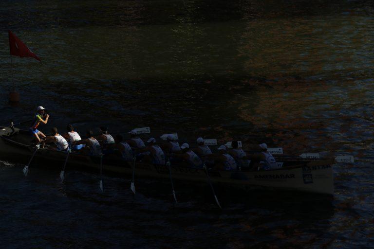 Aste Nagusia regatas en la ría