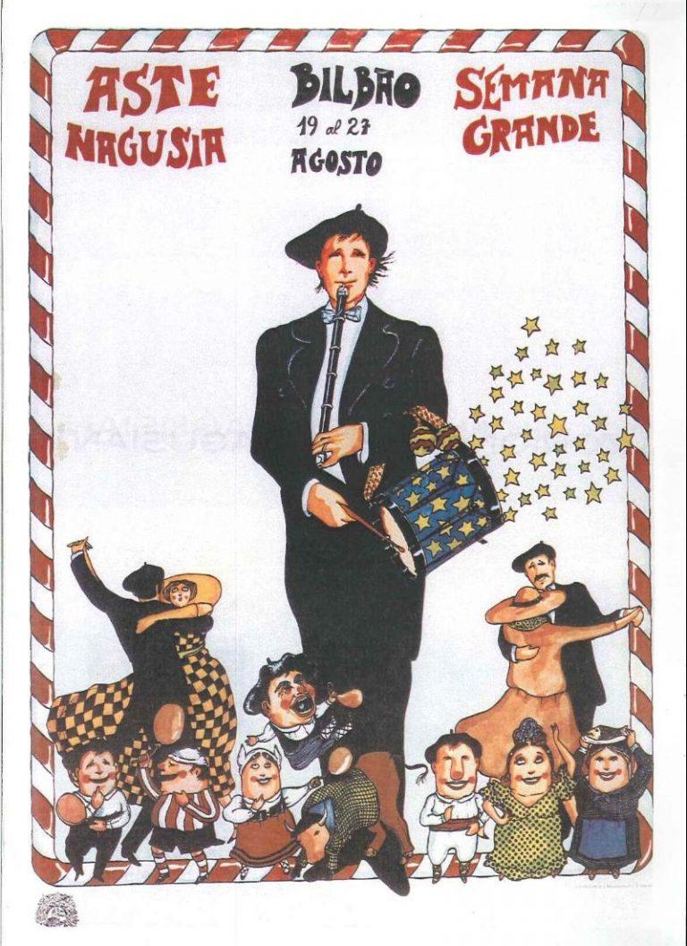 Cartel Aste Nagusia 1978