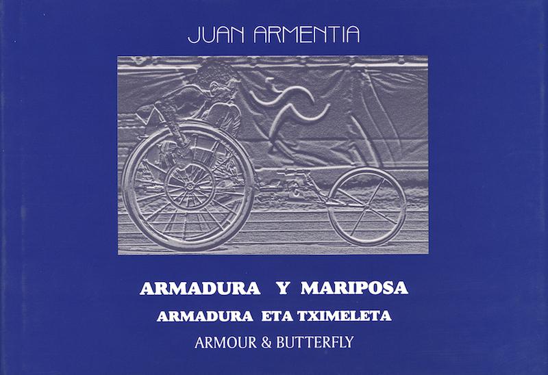 libro armadura y mariposa