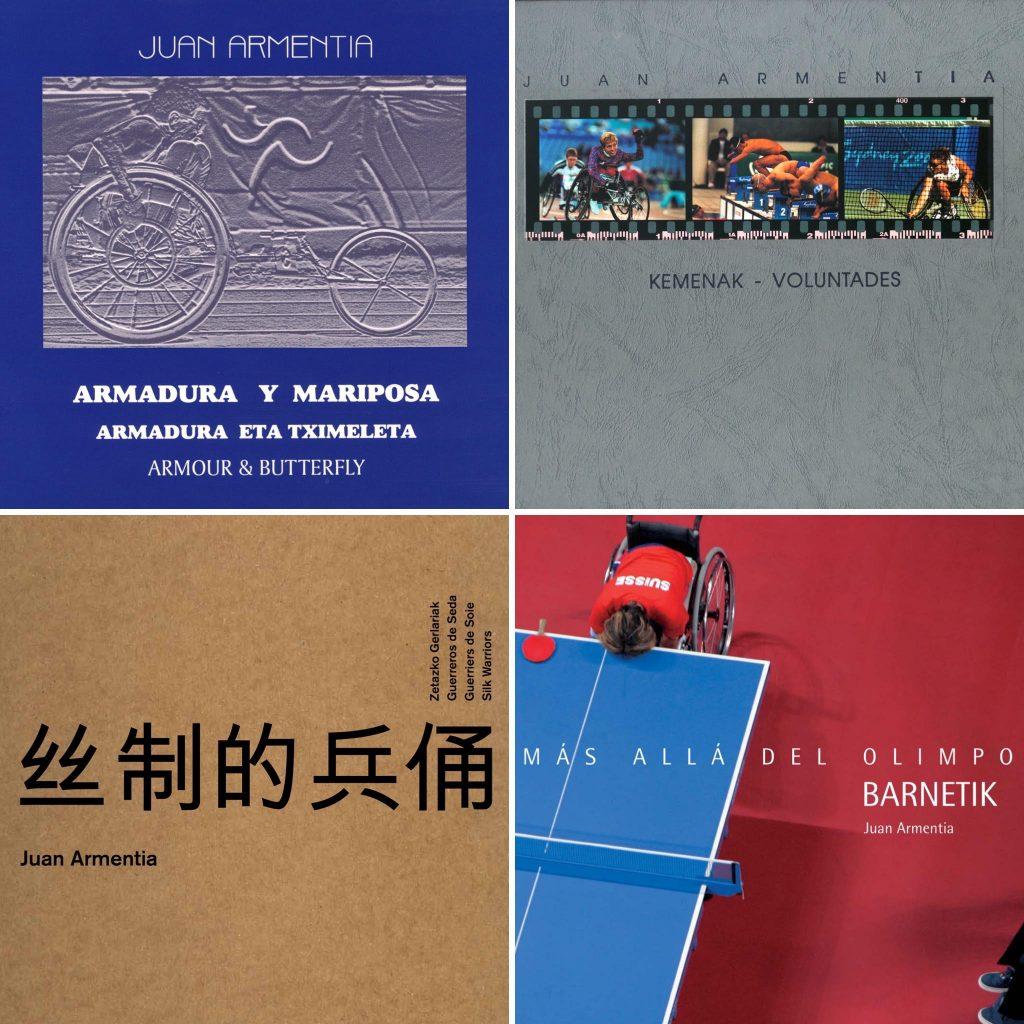 Paralimpiadas, libros de fotografía