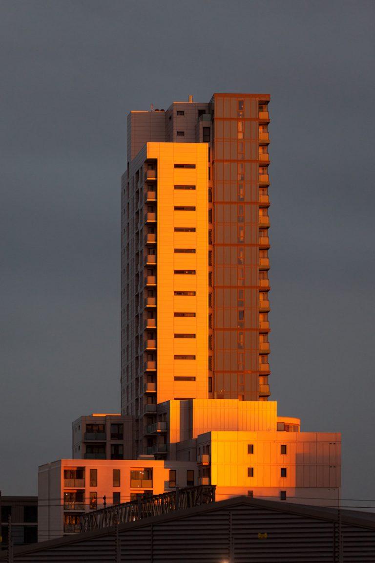 Fotografía de Londres, arquitectura al atardecer