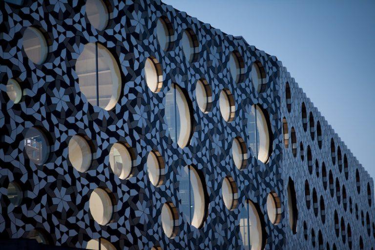 Arquitectura londinense, fachada de un edificio